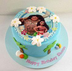 Image result for moana buttercream cake