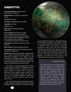 Planets, planets, and more planets - Page 8 - Star Wars: Edge of the Empire RPG - FFG Community Star Wars Droids, Star Wars Rpg, Star Trek, Star Wars Pictures, Star Wars Images, Star Wars Species, Edge Of The Empire, Arte Sci Fi, Starwars