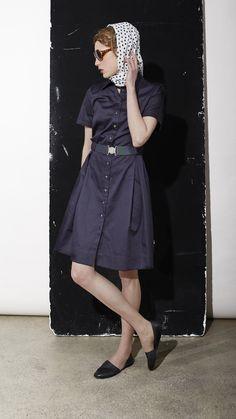 Wunderschönes Hemdblusenkleid von Annette Rufeger