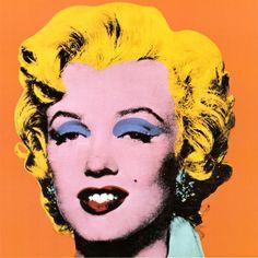 Andy Warhol Shot Orange Marilyn 1964 Painting