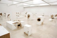 Mike Nelson - La Cannibale - (Parody, Consumption and Institutional Critique) 2008 Installation at Villa Arson, Nice