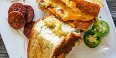 grilled jalapeño cheddar chorizo sandwich more grilled cheese recipes ...