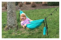 Love this kid-sized hammock!