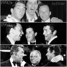 Dean Martin and Jerry Lewis with Frank Sinatra