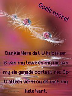 Goeie Nag, Goeie More, Classroom Rules, Afrikaans, Prayers, Bible, Quotes, Amen, Rings