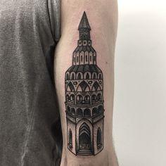 Fancy tower by Joel Rich.