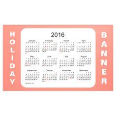 2016 Salmon Holiday Calendar by Janz Banner