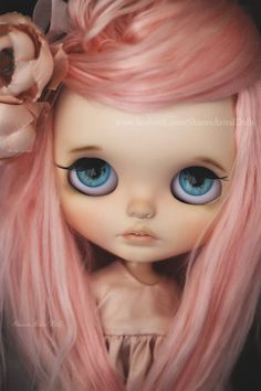 OOAK custom Blythe doll by Sharon Avital by SharonAvitalDolls