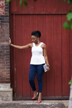 Economy of Style: Baring Shoulders in the Anthropologie Basket Tank