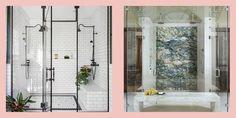 walk-in shower ideas Bathroom Stand, Master Bathroom, Shower Bathroom, Shower Doors, Shower Pics, Shower Ideas, Shower Pictures, Standing Shower, Walk In Shower Designs