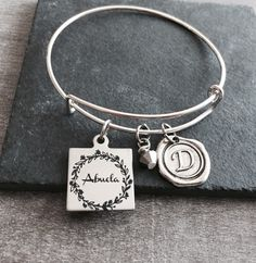Abuela, Spanish, Grandma, Grandmother, Silver Bracelet, Gifts for, Abuela Gift, Silver Jewelry, Grandma Charm Bracelet, New Grandma, Gifts by SAjolie, $23.95 USD