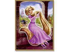 Rapunzel - schilderen op nummer - 18 x 24 cm - Schipper