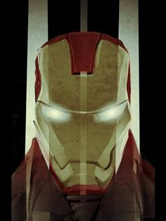 Iron Man Print Marvel Avengers by aunfin on Etsy, $20.00