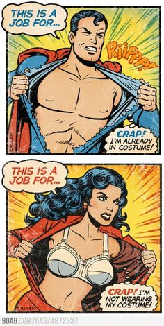 Super Embarassing. Emmit Penny repinned this from Majorelle to group Super Hero. Geek