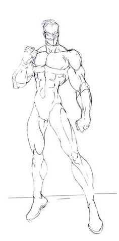 For my good friends.. and others this is for you.. a basic body sketch...just give me credit if you use this for characters.. and for Gabriel!! have at it bro... I'll do a female version as we...