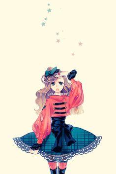 心水、I Love Fancy、樱姬零落爱、萌、彼女、頭像、漫画、插画、动漫、心情、Comic、少女心