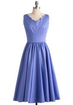 ModCloth - Purple Periwinkle and A Smile Dress - Lyst Mod Dress, Dress Skirt, Dress Up, Periwinkle Dress, Retro Vintage Dresses, Girls Dresses, Summer Dresses, Modcloth, Pretty Outfits