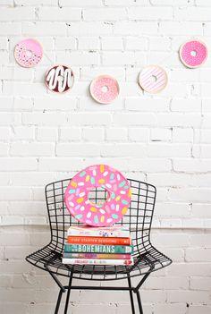 Donut garland DIY, Baba Souk