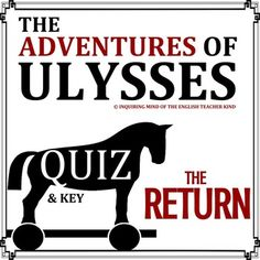 This zip file contains two Word documents.  The first is a 15-question multiple choice quiz on The Adventures of Ulysses by Bernard Evslin.  The second is the corresponding answer key.  Questions pertain to the following important details: Ulysses' return to Ithaca Eumaeus's loyalty Ulysses' new-found knowledge upon returning home The suitors vs.