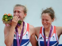 Sophie Hosking and Katherine Copeland won the gold medal in the women's double sculls.
