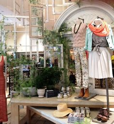 anthropologie -- hanging windows