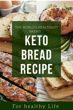 Keto Breads: Your Guide to Baking Grain-Free Keto Bread Keto Bread, Better Life, Salmon Burgers, Grain Free, Bread Recipes, Healthy Life, Good Food, Weight Loss, Healthy Recipes