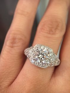 30 Brilliant Cushion Cut Engagement Rings