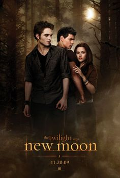 The Twilight Saga: New Moon (2009): Edward leaves Bella after an attack that nearly claimed her life, and in her depression she falls into yet another paranormal relationship- this time with werewolf Jacob Black.
