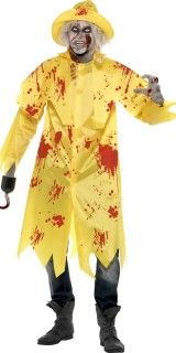 This Zombie Fisherman Costume includes a blood-splattered bright yellow long jacket and matching hat. - See more at: http://www.partyonwarehouse.com/fancy-dress/Product_Detail.php?Product=32265&parent=1251&Title=Zombie%20Fisherman%20Costume#sthash.8XWFOCmE.dpuf