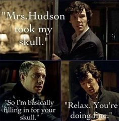 Sherlock - I just thought this was so cute!