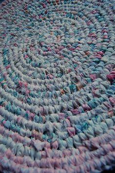 nalbinding rug on flickr