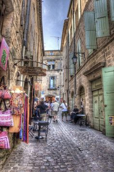 Pézenas, Languedoc-Roussillon, France I think I'd like to live in this town.