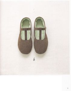 Sewing Slippers PDF Patterns