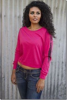 Fancy Feather Tee By Original Cowgirl Clothing Co T-1642