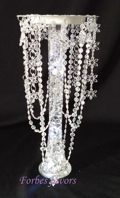 Glamorous Banpo Chandelier Centerpiece by ForbesFavors on Etsy