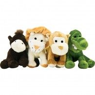 Jungle Friends - Assorted Pack of 4