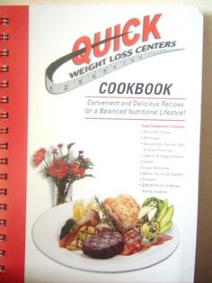 QUICK WEIGHT LOSS CENTERS COOKBOOK (2000) SPRIAL BOUND Reviews