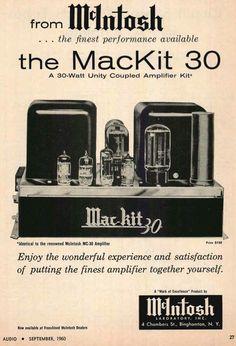 McIntosh MC30 in kit form