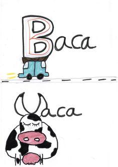 BACA VACA Speech Language Therapy, Writing, Atelier, Words