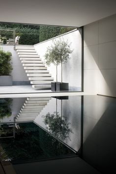 12 reflecting pool - reflecting EVERYTHING, giving us twice the impact for our production value