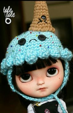 Custom tole tole - icy doll