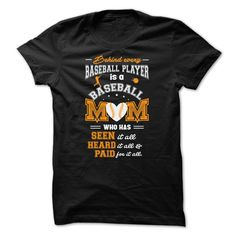 Baseball Mom - Are you bold (and honest) enough to wear it? Awesome Baseball Mom Shirt (Athlete Tshirts)
