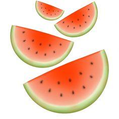 Watermelon Pattern by potatopug