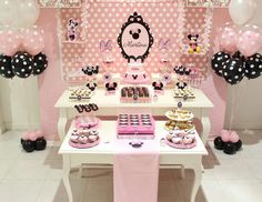 "Mickey Mouse / Minnie Mouse / Baptism ""Minnie Mouse Party "" 