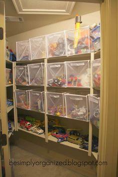 playroom & toy organization