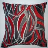 Maggies Interiors 2009 Ltd - flames red Cushions, Throw Pillows, Interiors, Red, Cushion, Decorative Pillows, Pillows, Decor Pillows, Decorating