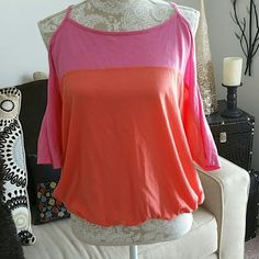 Victorias secret no shoulder top Cute and comfy! Best of both worlds. Worn a few times but great condition. Victoria's Secret Tops