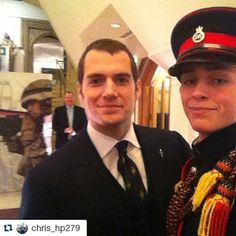 #Repost @chris_hp279 with @repostapp ・・・ Henry Cavill at the sun military awards #legend #superman