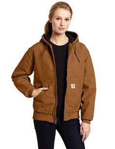 Women's Quilted Flannel Lined Sandstone Active Jacket