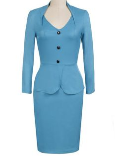 http://www.buytrends.com/Products/v-neck-full-sleeve-button-zipper-falbala-bodycon-dress-work-dresses-39767.html?sign=007_pinterest_CU75642847